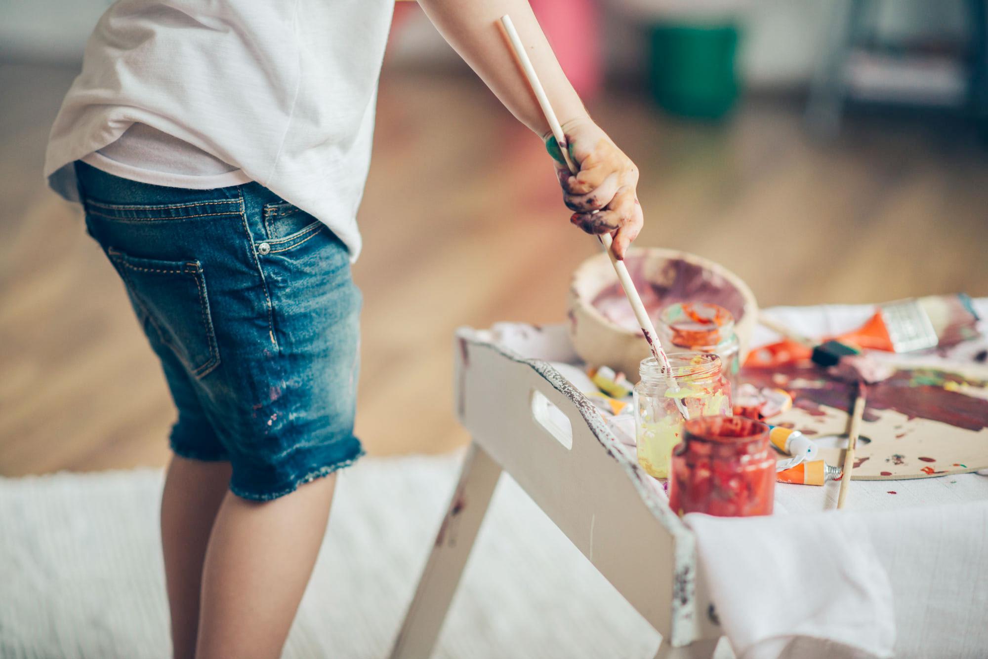 Çocukların Sanattan Öğrendiği 10 Temel Beceri