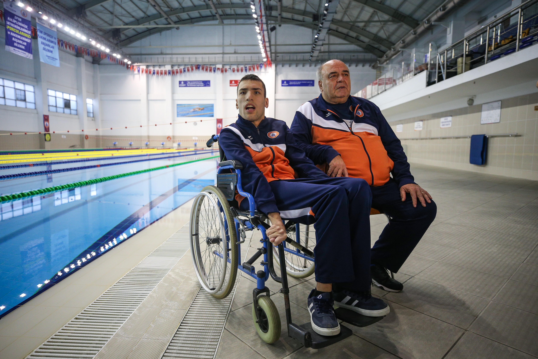 Hayatını engelli şampiyon oğluna adadı, İLK EVİN - Özel Eğitim ve Rehabilitasyon Merkezi