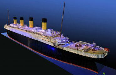 Otizm Titanik Lego